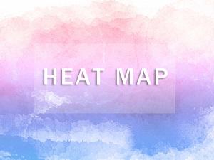 ヒートマップを用いた分析や解析・改善